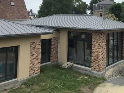 travaux toiture zinc caen